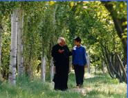 Rhaman e seu amigo Padre
