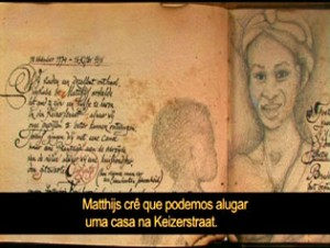 Livro fake dos ancestrais do diretor