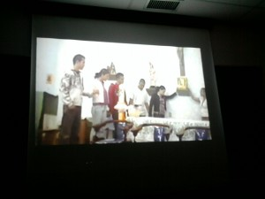 cena do video
