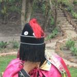 Nádia Stepanova em ritual no Brasil